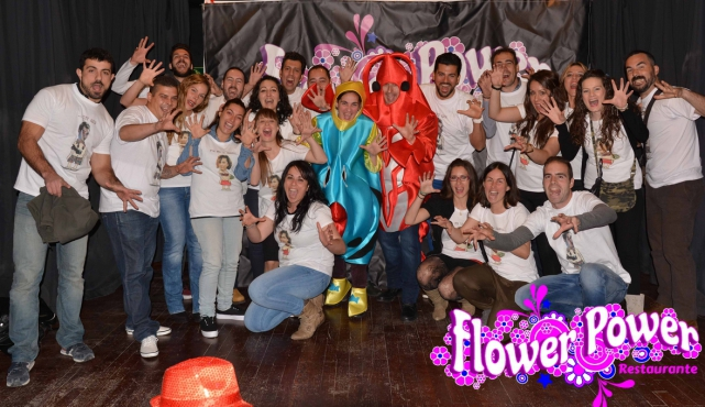 Despedida de soltero flower power