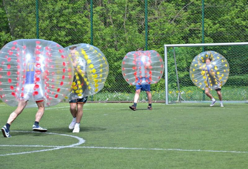 despedidas de soltero futbol burbuja