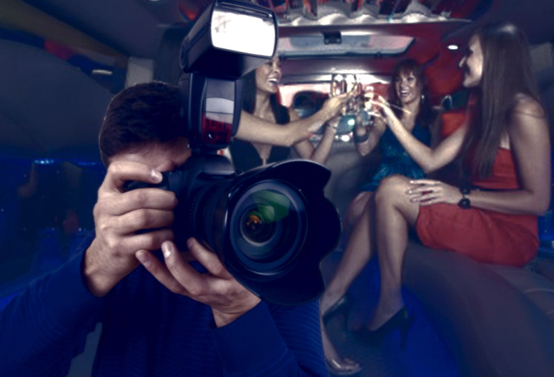 alquiler limusina en madrid con fotógrafo