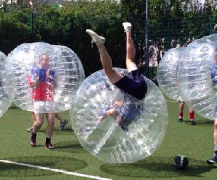 despedidas de soltero fútbol burbuja