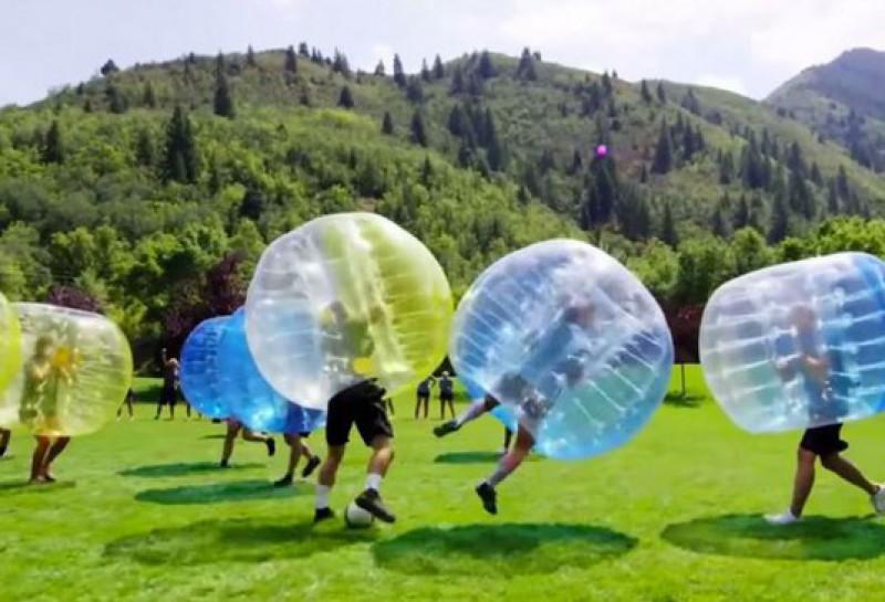 oferta despedidas de solteros fútbol burbuja