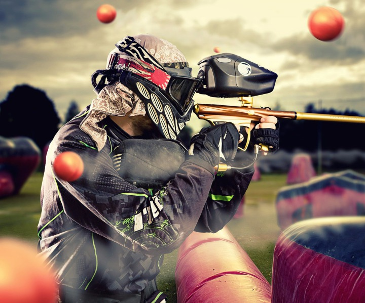 oferta despedidas de solteros Paintball madrid